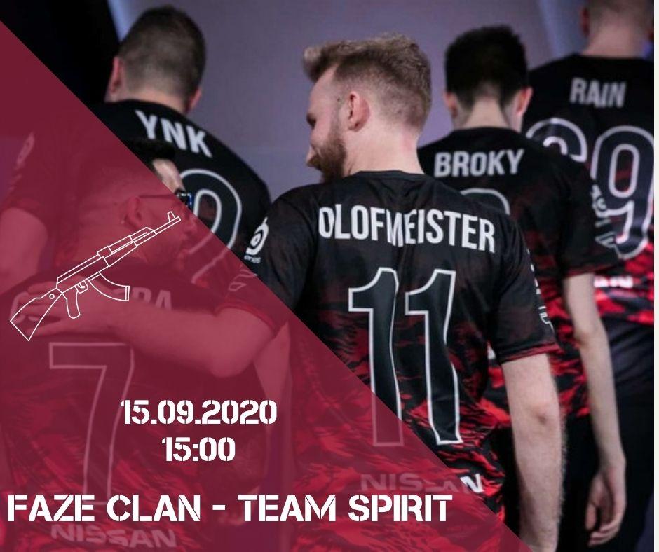 FaZe Clan - Team Spirit