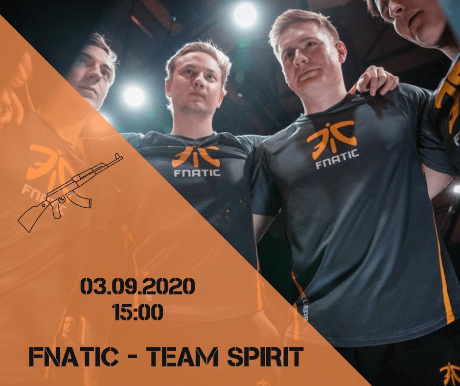 Fnatic - Team Spirit