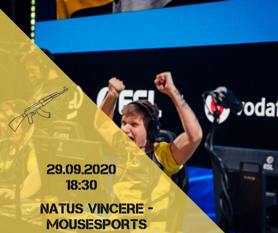 Natus Vincere - Mousesports