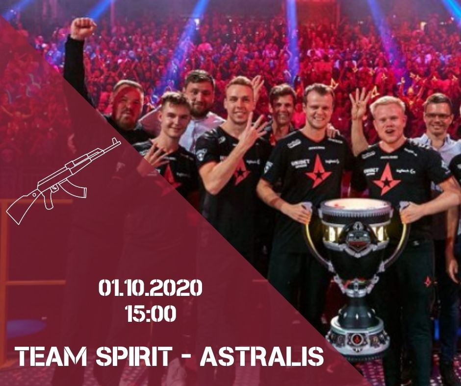 Team Spirit - Astralis