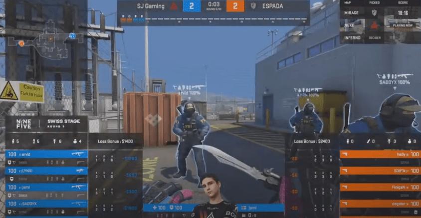 Espada vs SJ Gaming