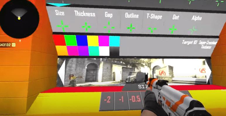 Настройка прицела в Counter-Strike: Global Offensive