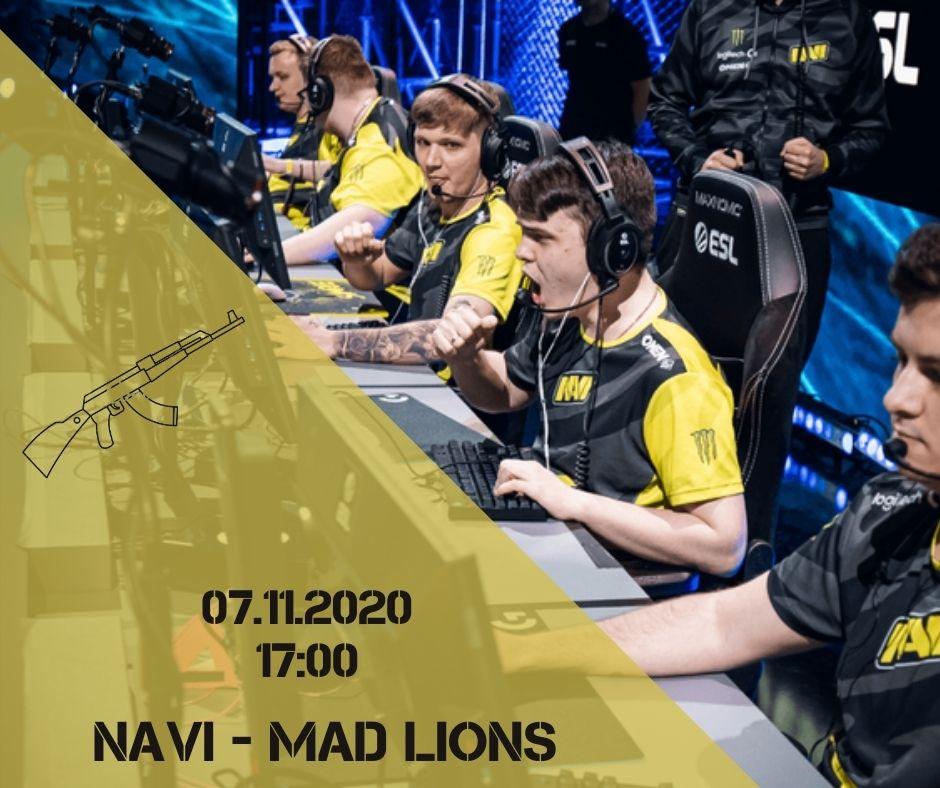 Natus Vincere - MAD Lions
