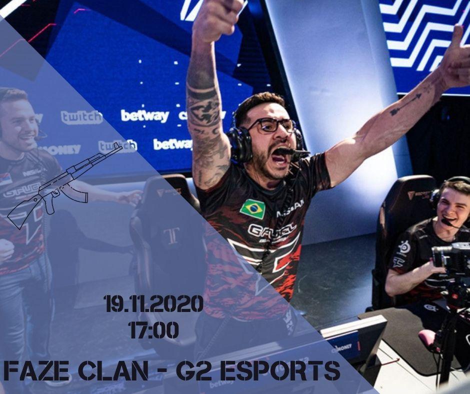 FaZe Clan - G2 eSports