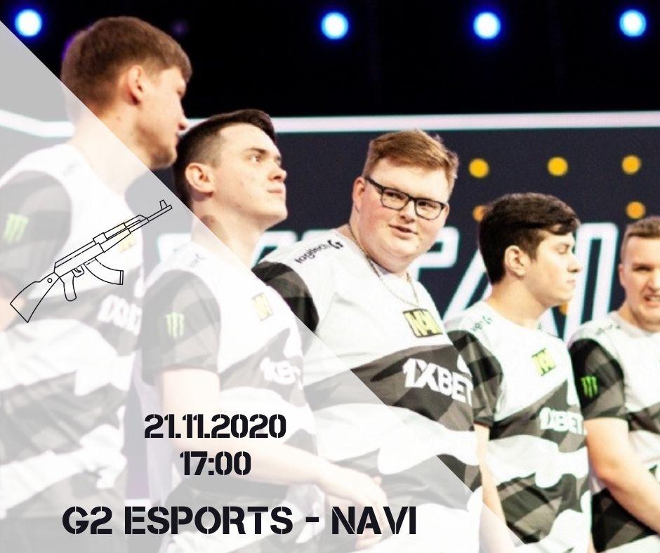 G2 eSports - NAVI