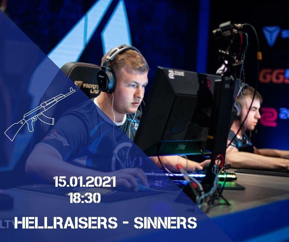 HellRaisers - Sinners