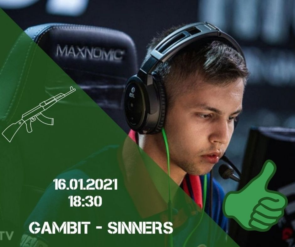 Gambit Esports - Sinners