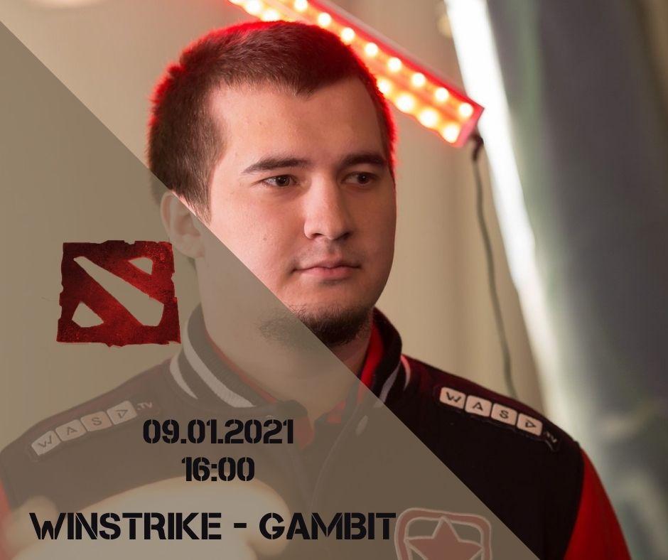 Winstrike - Gambit Esports