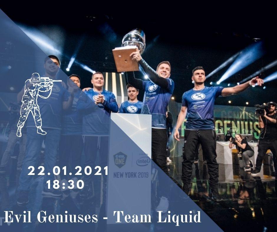Evil Geniuses - Team Liquid
