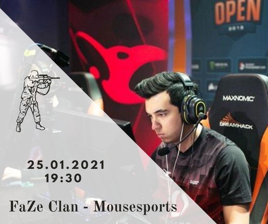 FaZe Clan - mousesports