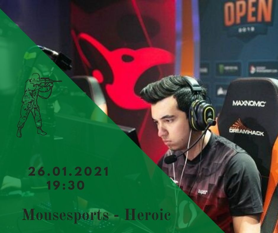 Mousesports - Heroic