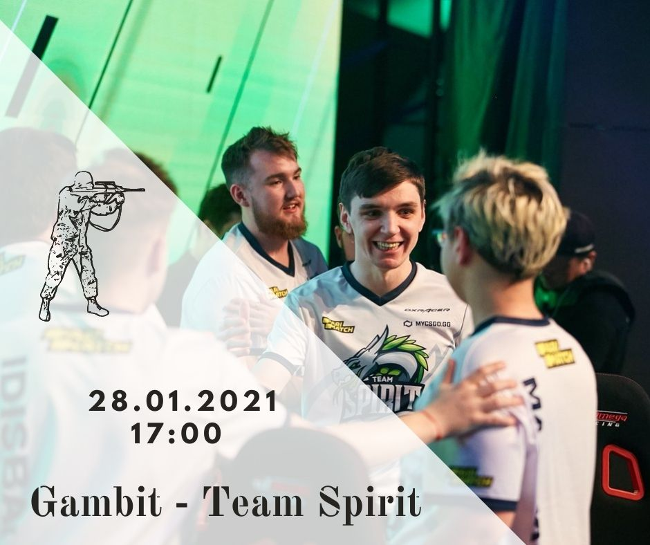 Gambit - Team Spirit
