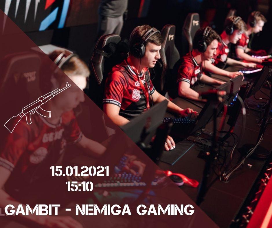 Gambit - Nemiga Gaming