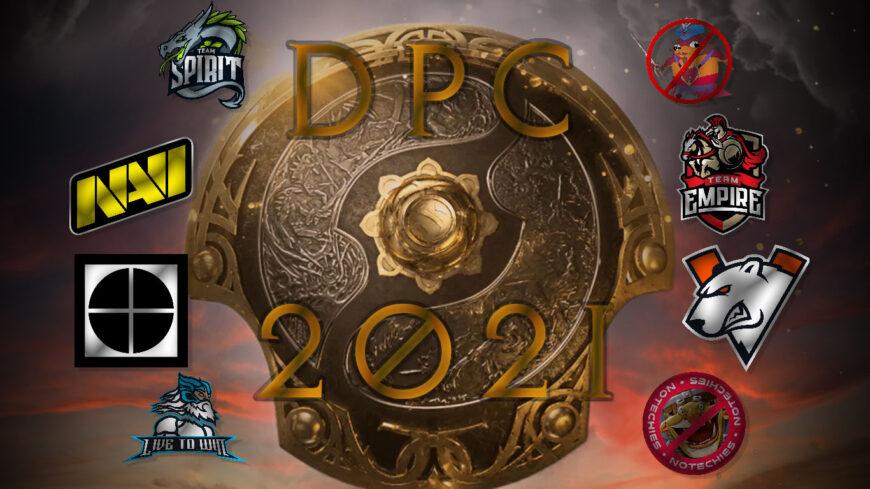 Команды Dota 2 DPC 2021