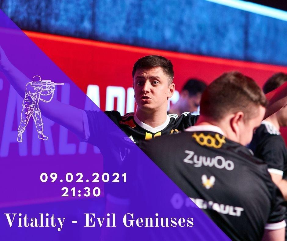 Team Vitality - Evil Geniuses