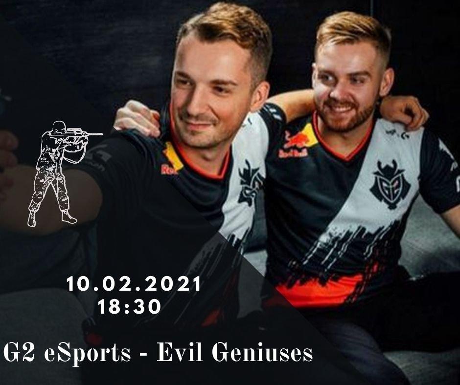G2 eSports - Evil Geniuses