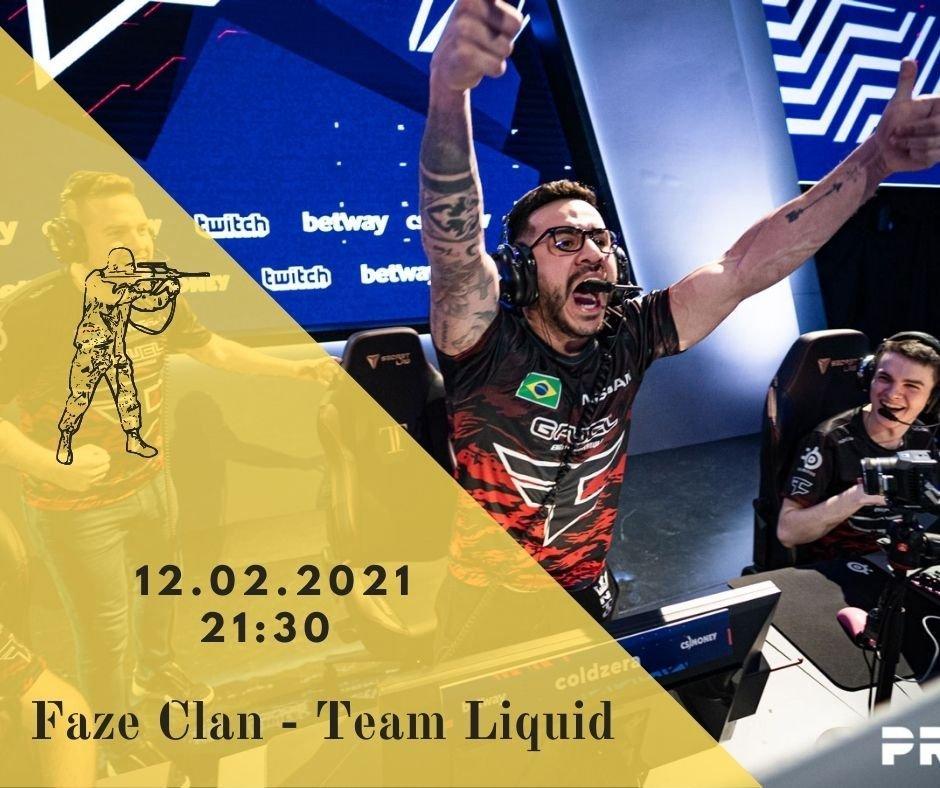 Faze Clan - Team Liquid