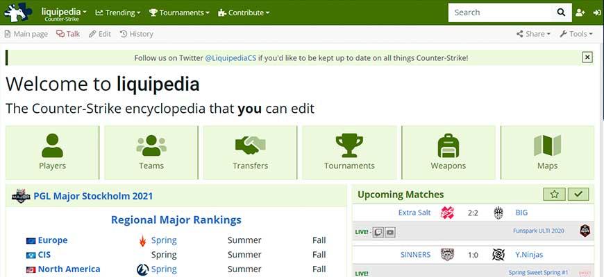 портал liquipedia.net