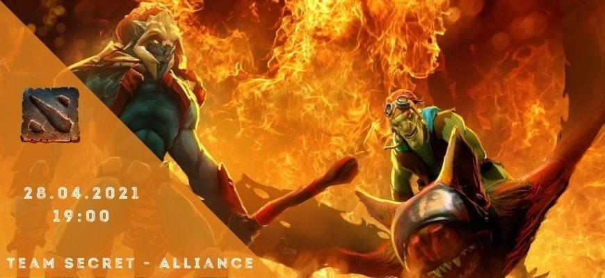 Team Secret - Alliance-28-04-2021