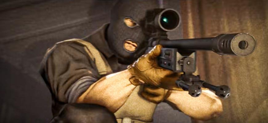 cs go снайпер