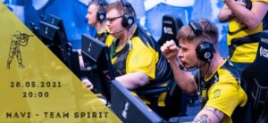 Natus Vincere - Team Spirit-28-05-2021