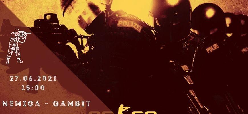 Nemiga - Gambit-27-06-2021