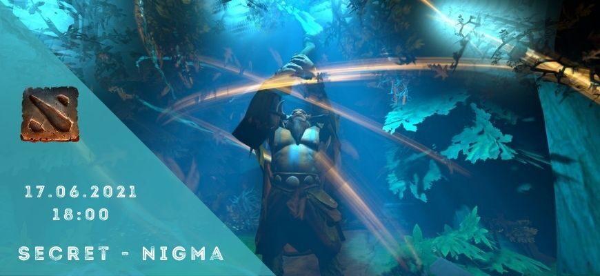 Team Secret - Nigma-17-06-2021