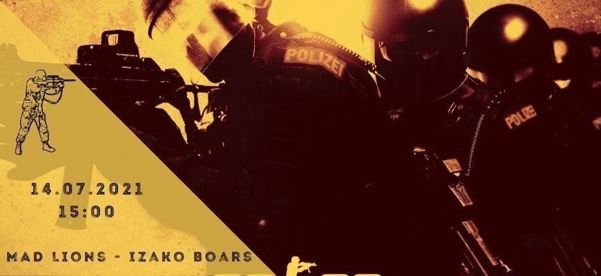 MAD Lions - Izako Boars-14-07-2021