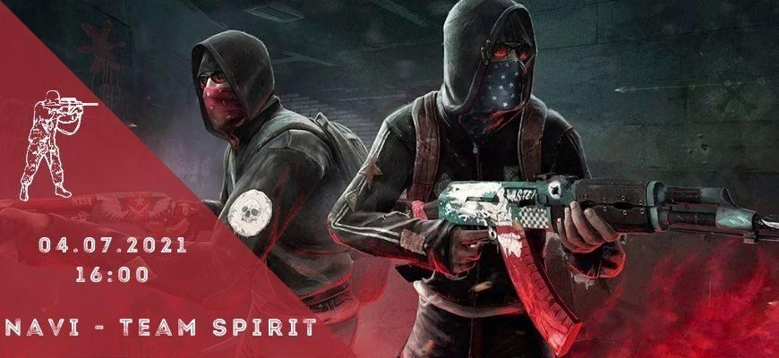 Natus Vincere - Team Spirit-04-07-2021
