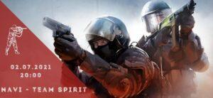Natus Vincere - Team Spirit-02-07-2021