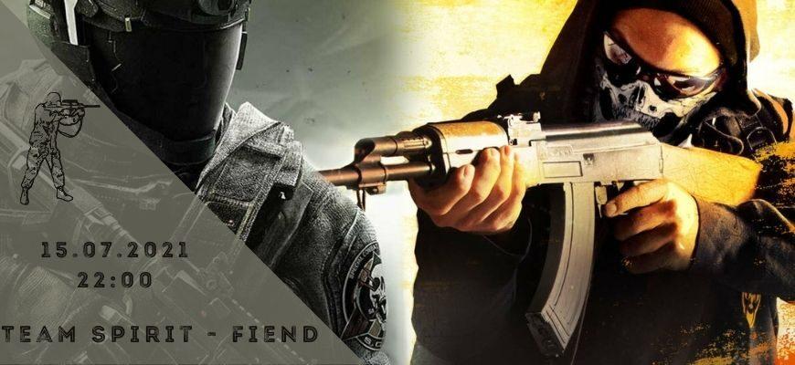 Team Spirit - Fiend-15-07-2021