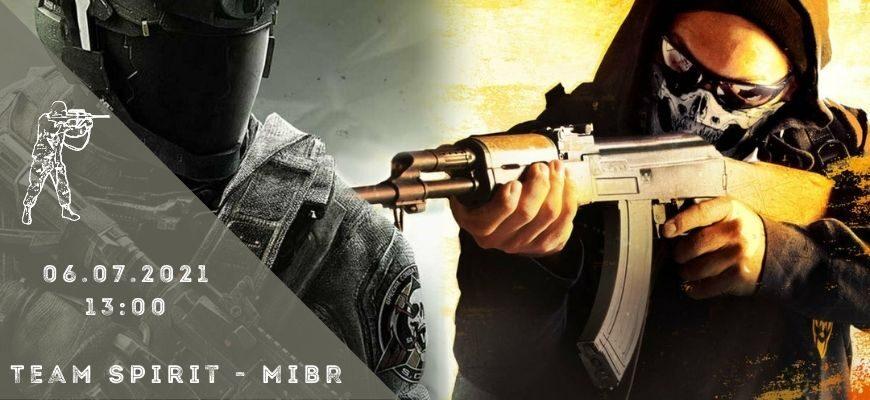 Team Spirit - MiBR-06-07-2021