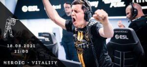 Heroic - Team Vitality-18-08-2021