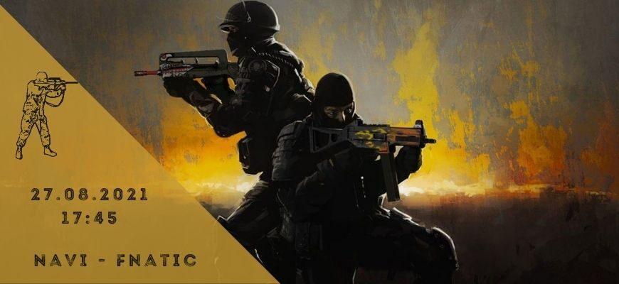 Natus Vincere - Fnatic-27-08-2021