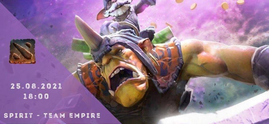 Team Spirit - Team Empire-26-08-2021