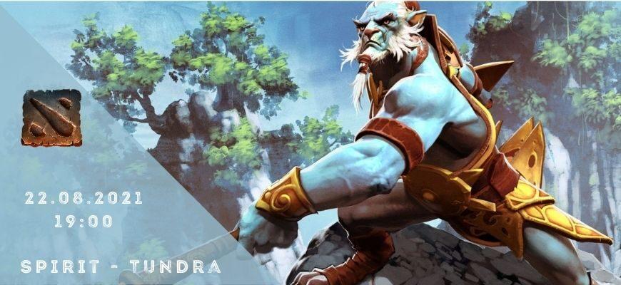Team Spirit - Tundra-22-08-2021